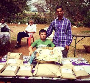 vijay selling his own rice